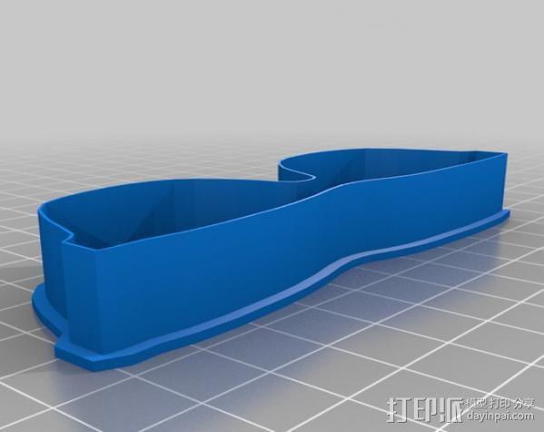 创造性的饼干模具切割刀 3D模型  图15