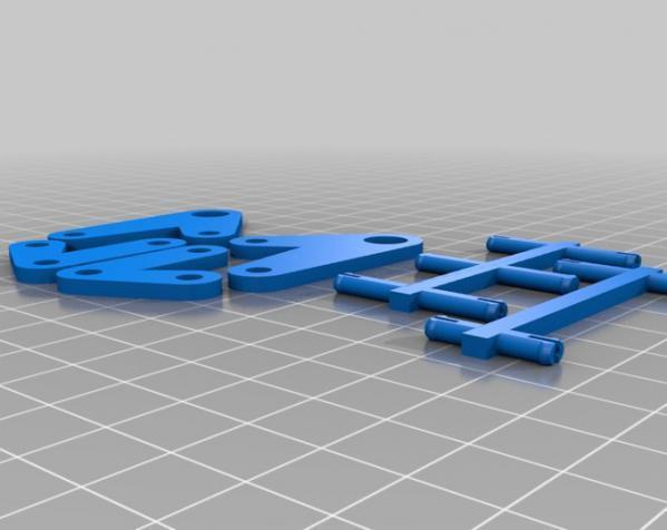 组装式迷你台灯 3D模型  图2