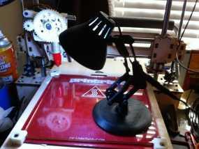 组装式迷你台灯 3D模型