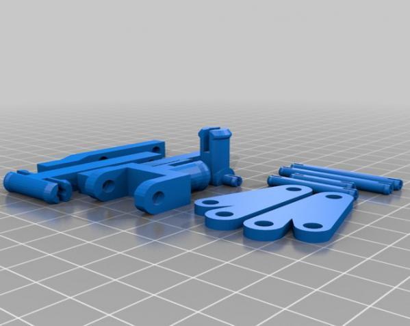 组装式迷你台灯 3D模型  图3