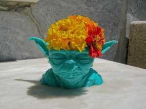 尤达大师花瓶 3D模型