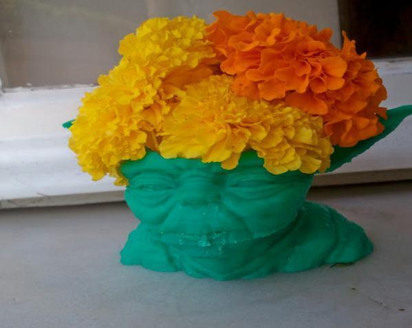 尤达大师花瓶 3D模型  图3