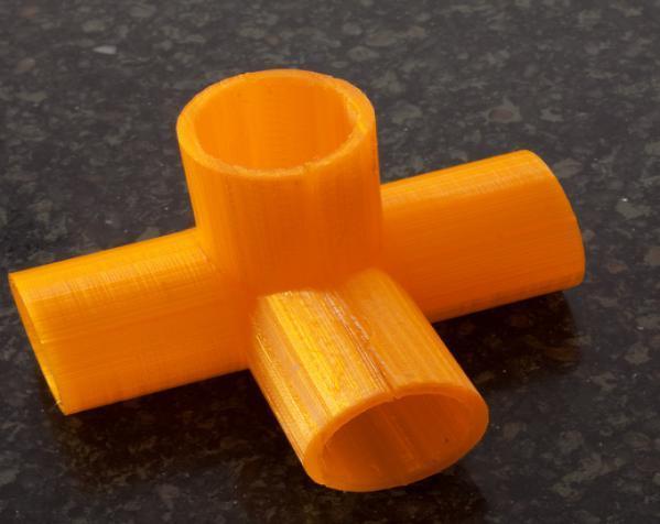 出口管耦合器 3D模型  图3