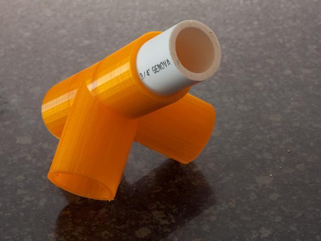出口管耦合器 3D模型  图2