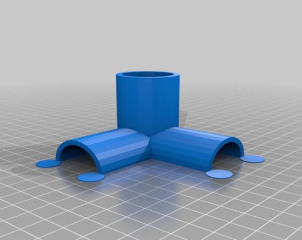 出口管耦合器 3D模型  图4