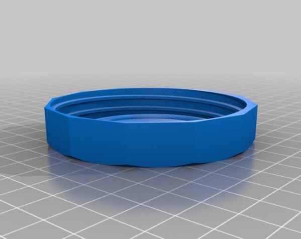 罐头瓶盖子 3D模型  图2