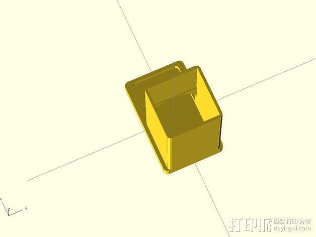 参数化雀巢胶囊咖啡分发器 3D模型  图4