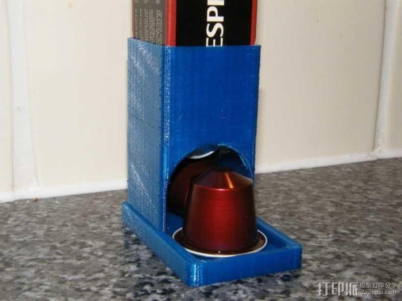 参数化雀巢胶囊咖啡分发器 3D模型  图1