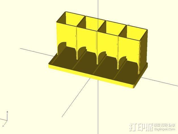 参数化雀巢胶囊咖啡分发器 3D模型  图7