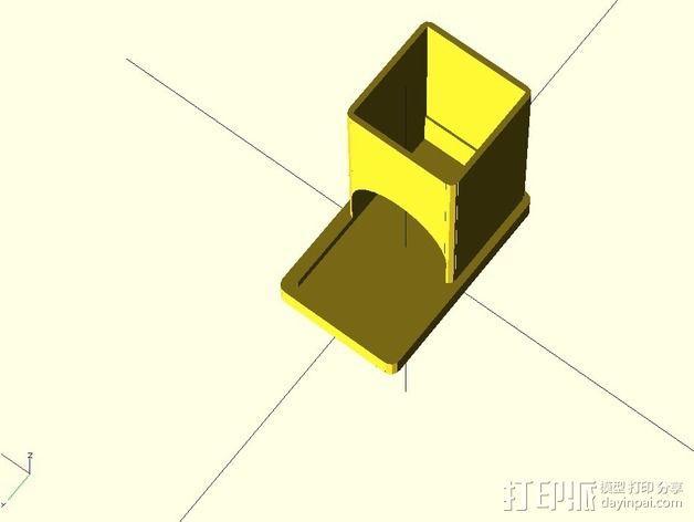 参数化雀巢胶囊咖啡分发器 3D模型  图6