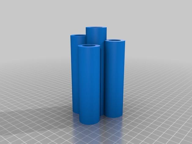吉列蓝色II剃须刀架 3D模型  图2