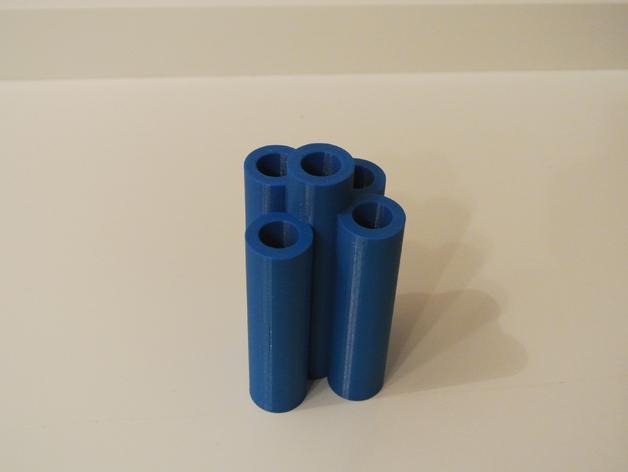 吉列蓝色II剃须刀架 3D模型  图1