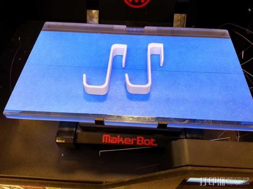 镜子挂钩 3D模型  图3