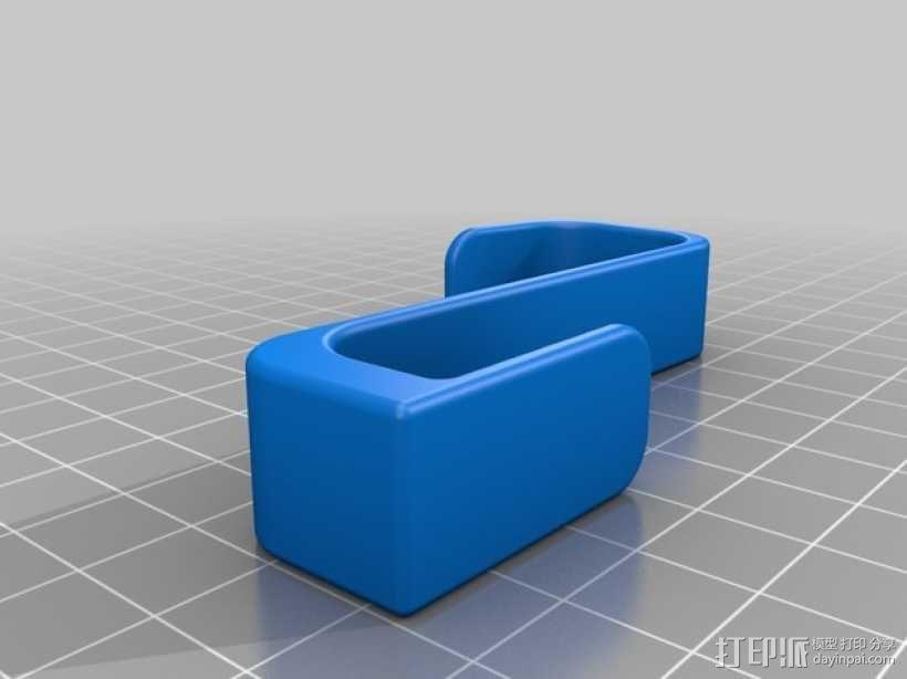 镜子挂钩 3D模型  图2