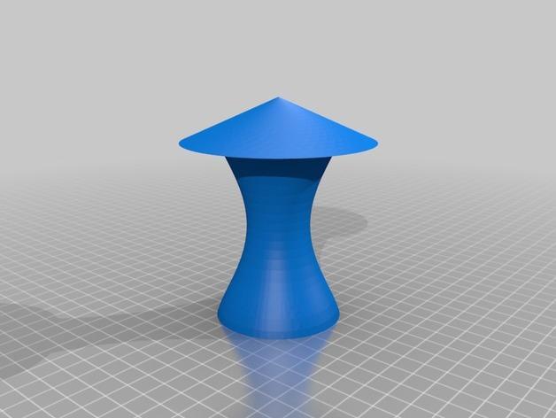 迷你3D打印电灯 3D模型  图3