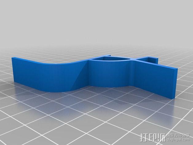 缝纫机手机架 3D模型  图6