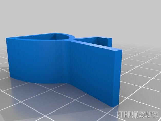 缝纫机手机架 3D模型  图7