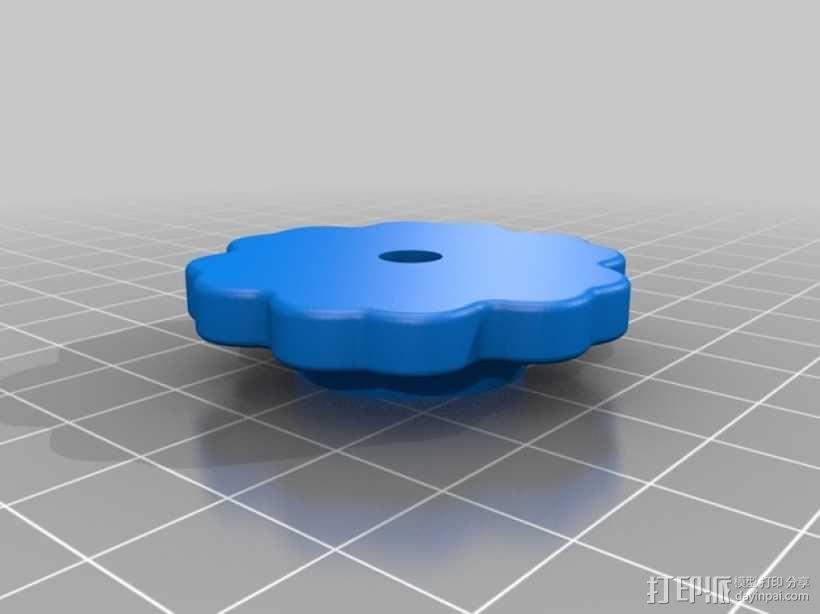 乐高巨型花环花朵 3D模型  图2