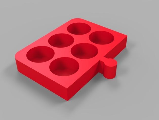 多功能电子烟底座 3D模型  图1