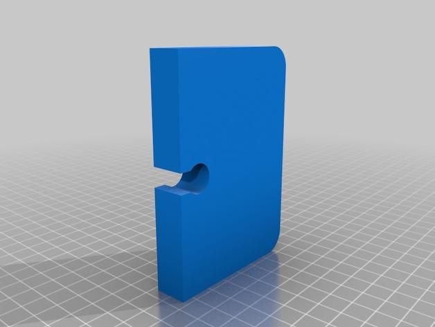 多功能电子烟底座 3D模型  图2
