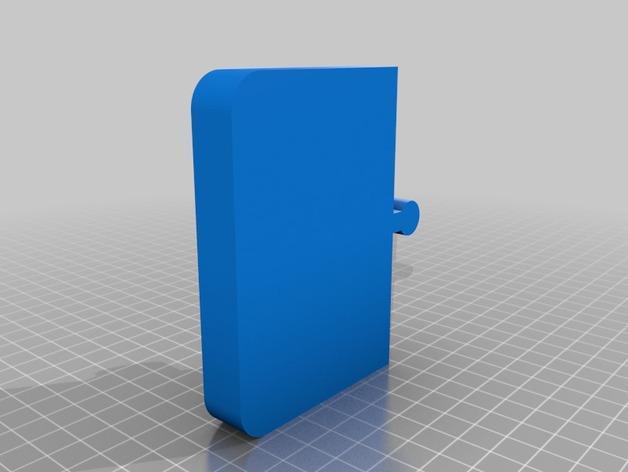 多功能电子烟底座 3D模型  图3