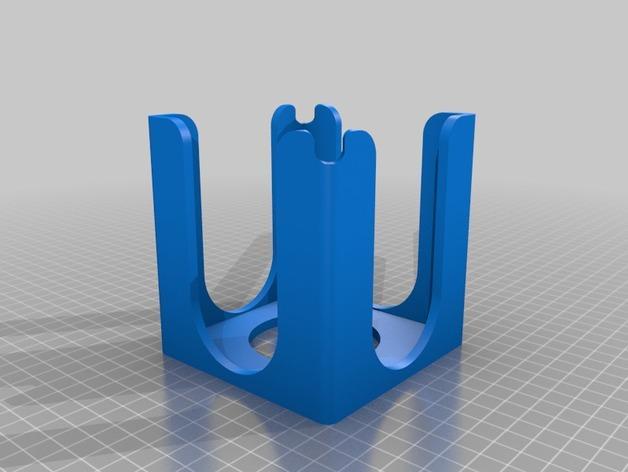 便利贴盒 3D模型  图2