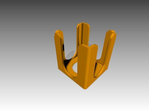 便利贴盒 3D模型  图3