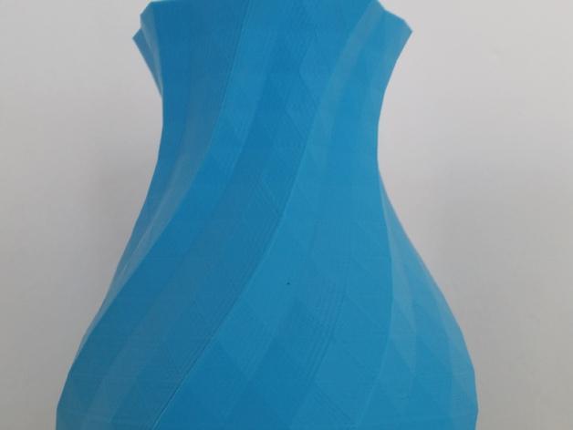 多变圆形花瓶 3D模型  图4