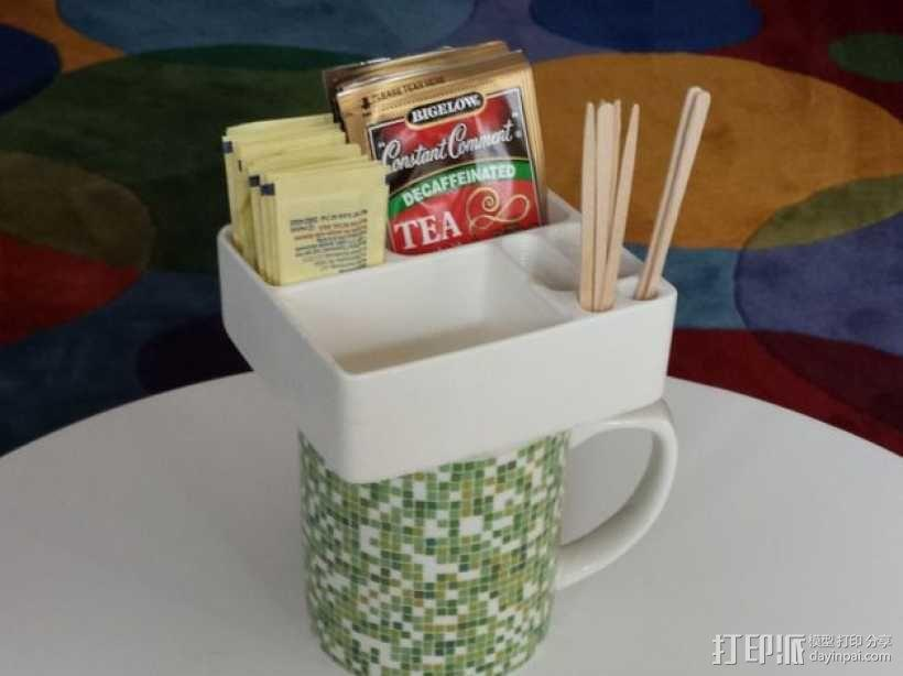 简易茶叶盒 3D模型  图2