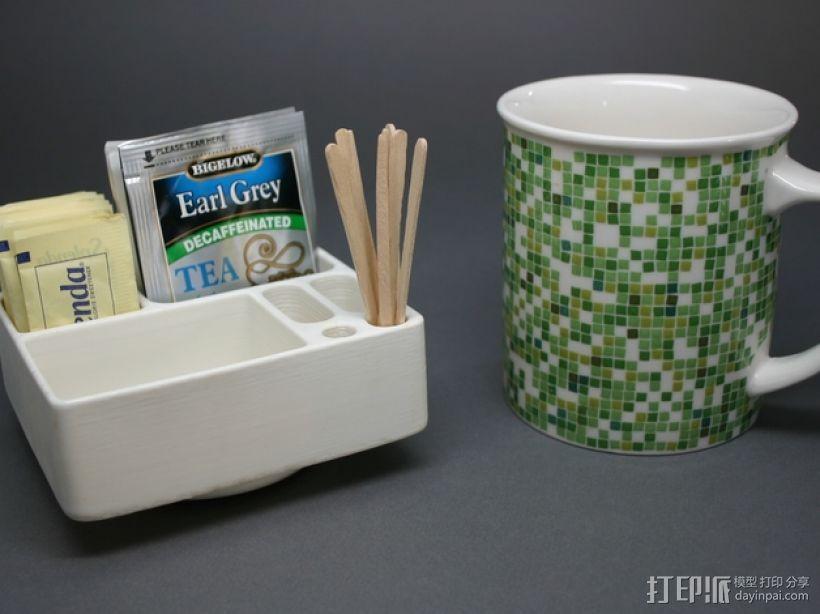 简易茶叶盒 3D模型  图1