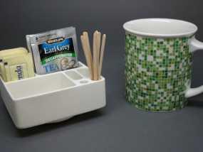 简易茶叶盒 3D模型