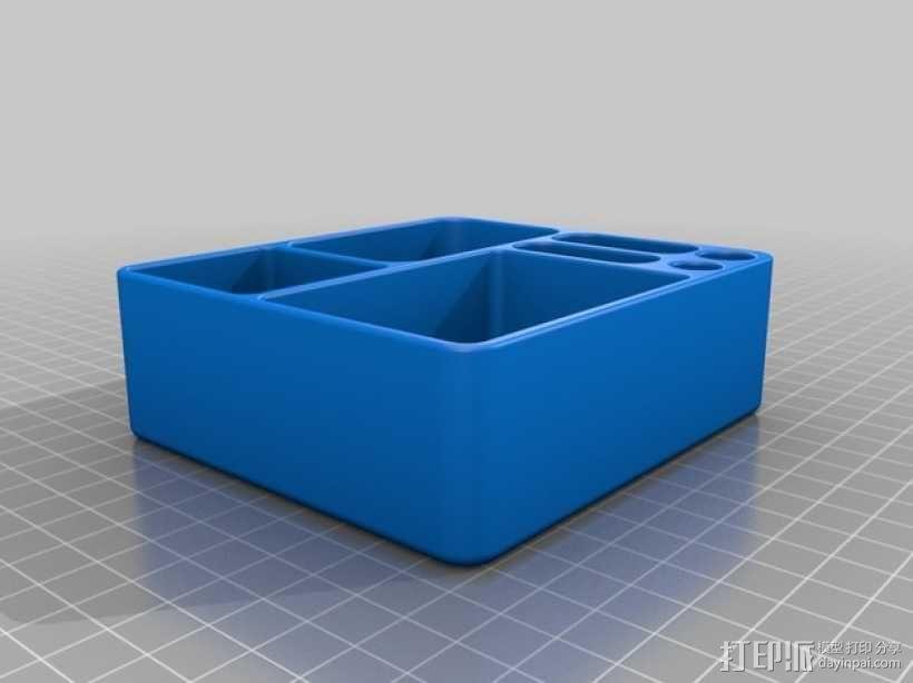 简易茶叶盒 3D模型  图3
