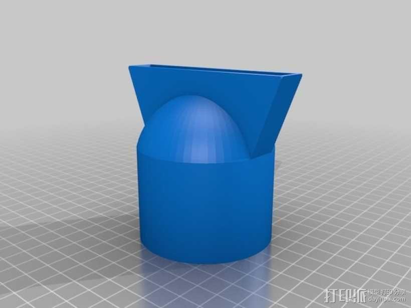 吹风机附件/挂钩 3D模型  图5