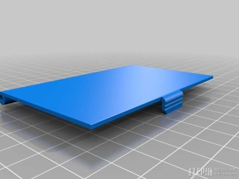 名片卡盒 3D模型  图3