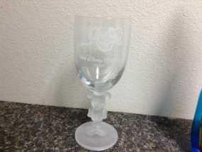 米奇玻璃杯 3D模型