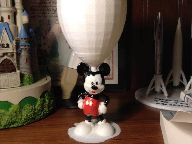 米奇玻璃杯 3D模型  图3