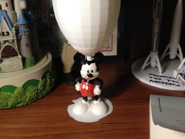 米奇玻璃杯 3D模型  图4