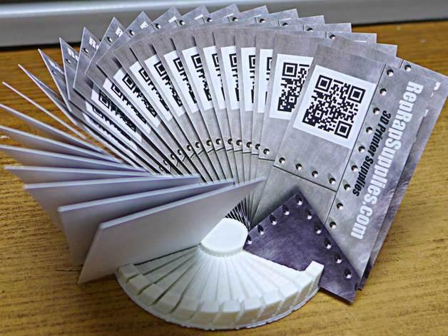 圆形卡片夹/名片夹 3D模型  图3