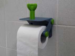 厕纸架 3D模型
