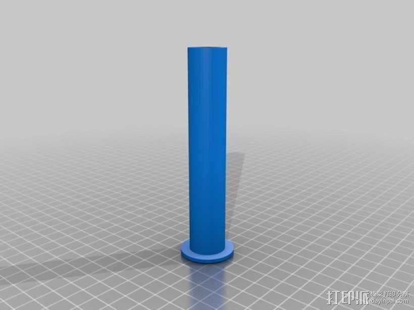 厕纸架 3D模型  图3