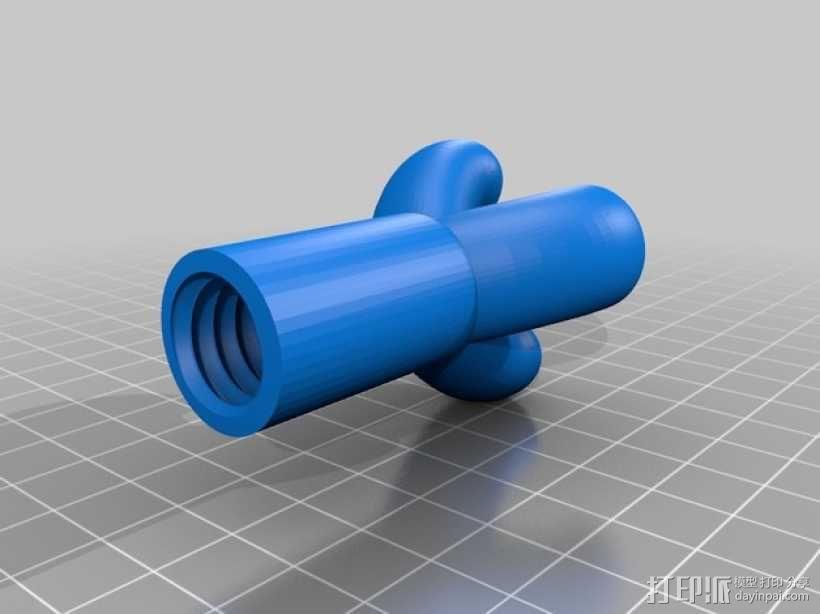 厕纸架 3D模型  图5