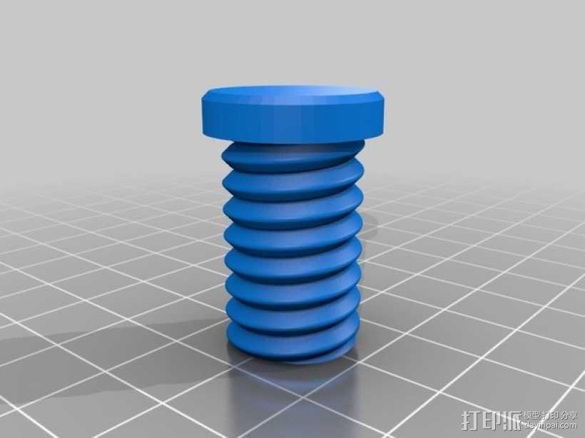 厕纸架 3D模型  图6
