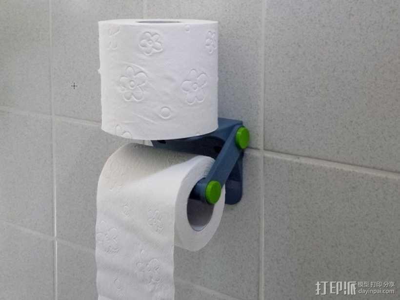 厕纸架 3D模型  图8
