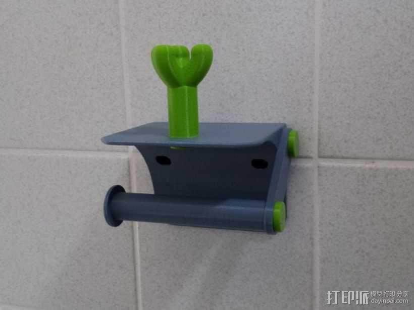 厕纸架 3D模型  图9
