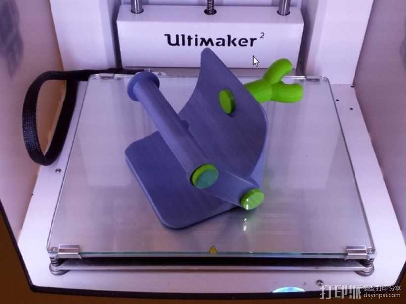 厕纸架 3D模型  图10