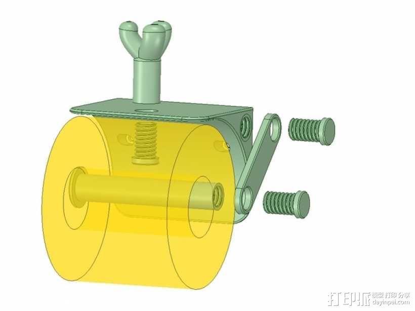 厕纸架 3D模型  图11