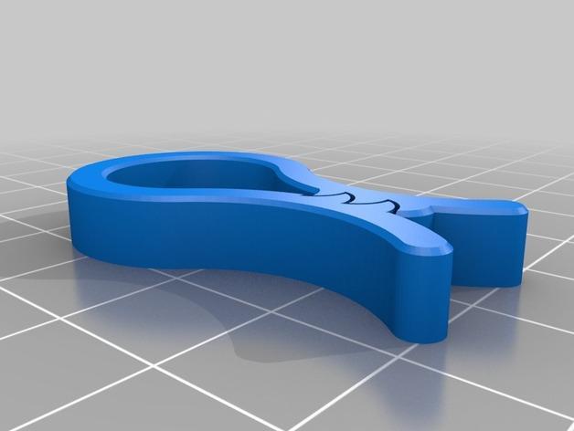 毛巾夹/纸巾夹 3D模型  图3