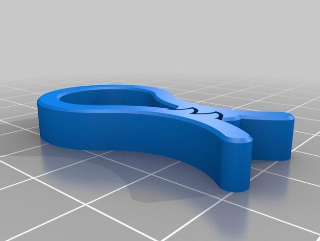 毛巾夹/纸巾夹 3D模型  图4