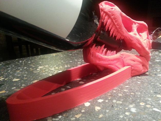 恐龙形葡萄酒瓶支架 3D模型  图2