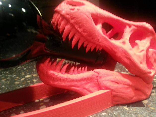 恐龙形葡萄酒瓶支架 3D模型  图4